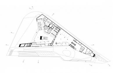 Porsche Museum - Vstupní podlaží - foto: Delugan Meissl Associated Architects