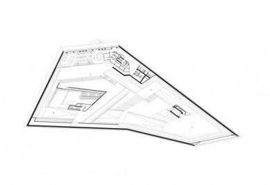 Porsche Museum - Výstavní podlaží - foto: Delugan Meissl Associated Architects