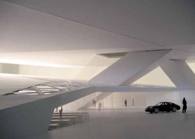 Porsche Museum - Model - foto: Delugan Meissl Associated Architects