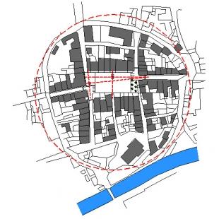 Rekonstrukce frýdlantského náměstí - Situace širších vztahů