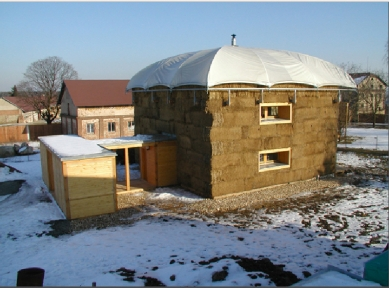 Dům v kožichu - foto: Ester Havlová / Petr Suske