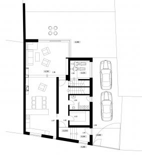 Rodinný dům v Opavě - 1NP