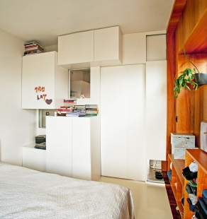 Interiér bytu ve Varšavě - foto: Petr Jakšík