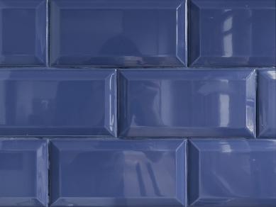 Maminčina modro-bílá kuchyně - foto: A1Architects – MgA. David Maštálka
