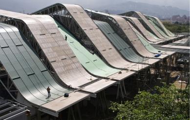 Sportoviště pro Jihamerické hry 2010 - Fotografie z průběhu realizace - foto: Giancarlo Mazzanti Mazzanti Arquitectos