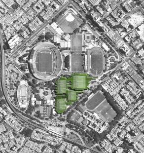 Sportoviště pro Jihamerické hry 2010 - Situace - foto: Giancarlo Mazzanti Mazzanti Arquitectos