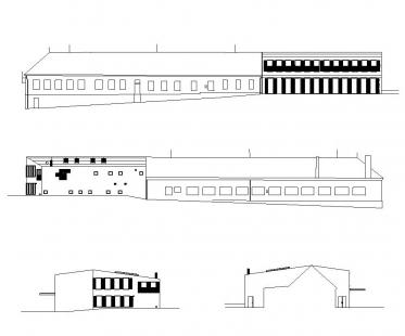 Přístavba základní školy v Hradištku - Pohledy - foto: Architektura s.r.o.