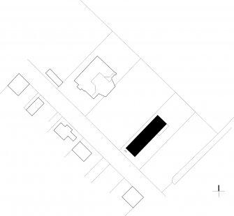Dům v betonu - Situace - foto: ARCHTEAM