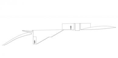 Vodní chrám - Řez