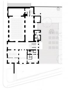Kulturní dům Na Rybníčku v Opavě - Půdorys 1NP