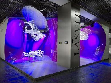 Lasvit exhibition stand in Frankfurt - foto: Filip Šlapal