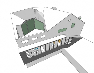 Rekonstrukce bytového domu v Litomyšli - Nový stav