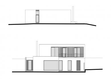 Rodinný dům v Krásném Poli - Pohled SV a JZ - foto: WMA architects