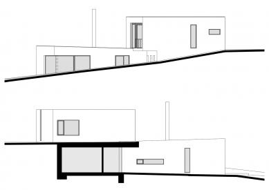 Rodinný dům v Krásném Poli - Pohled JV a SZ - foto: WMA architects