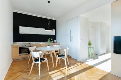 Interiér bytu v Holešovicích - foto: Jiří Beran