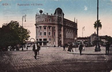 Palác Urania - Historická pohlednice - foto: archiv redakce