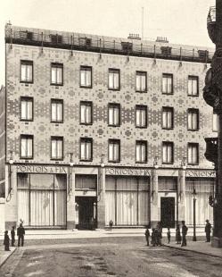 Budova Portoix & Fix - Historický snímek - foto: archiv redakce