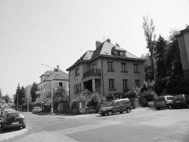 Rekonstrukce vily v Podolí - Původní stav
