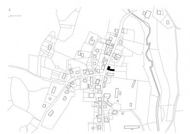 Centrum umění Kvilda - Situace - foto: Atelier25