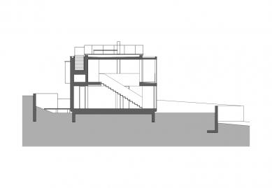 Bambusový dům - Příčný řez - foto: Atelier Štěpán