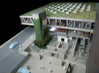 Milstein Hall for Cornell College of Architecture - Model - foto: OMA