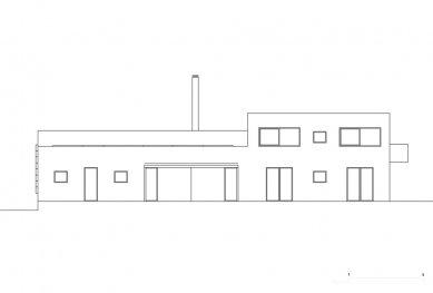 Rodinný dům V Lukách - Zahradní pohled - foto: Atelier25