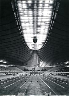 Olympijské haly - Interiér plavecké haly