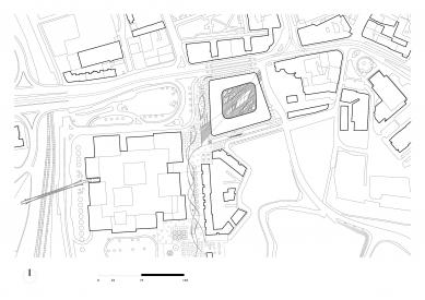 Nová Karolina Park - Situace - foto: CMC architects, a.s.