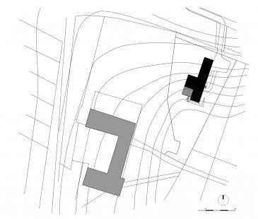 Dům v Albrechticích - Situace - foto: MOLO ARCHITEKTI