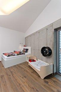 Interiér novostavby rodinného domu v Osicích - foto: Martin Zeman