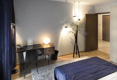 Pánský byt vDocích, Libeň - foto: Jakub Zdechovan - archiv Crestylu