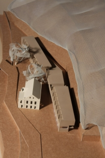 Rekreační areál Hřebíkárna - Model - foto: PO architekti
