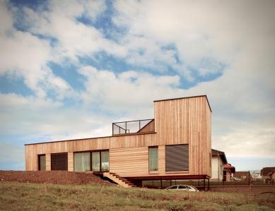 House in Levín - foto: Bára Kuklíková