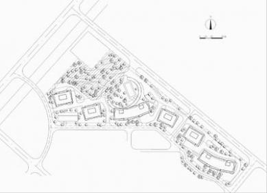 Vertikální apartmány - Situace - foto: Amateur Architecture Studio