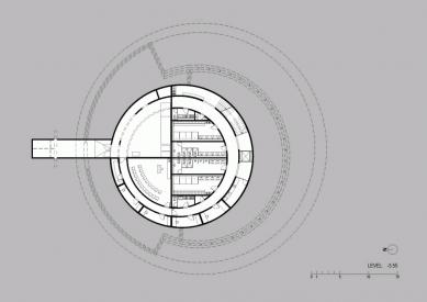Evropské kulturní centrum pro vesmírné technologie - Půdorys suterénu