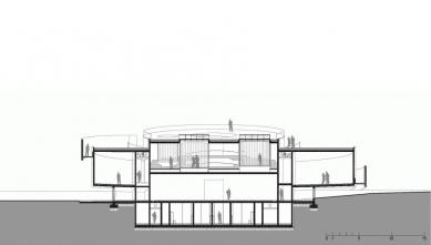 Evropské kulturní centrum pro vesmírné technologie - Řez
