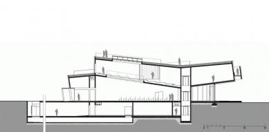 Cultural Center of EU Space Technologies - Řez