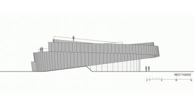 Cultural Center of EU Space Technologies - Západní pohled
