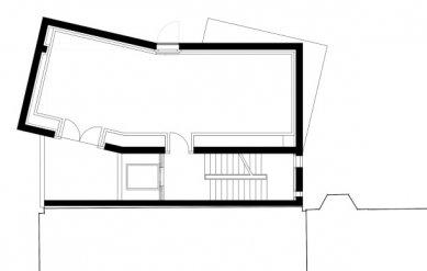 Muzeum architektonické kresby - Půdorys 2.patra - foto: SPeeCH Tchoban&Kuznetsov