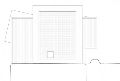 Muzeum architektonické kresby - Výkres střechy - foto: SPeeCH Tchoban&Kuznetsov