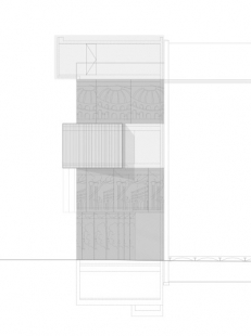 Muzeum architektonické kresby - Čelní pohled - foto: SPeeCH Tchoban&Kuznetsov
