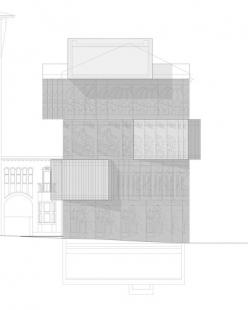 Muzeum architektonické kresby - Boční pohled - foto: SPeeCH Tchoban&Kuznetsov