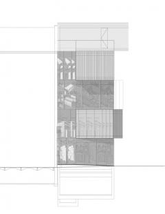Muzeum architektonické kresby - Zadní pohled - foto: SPeeCH Tchoban&Kuznetsov