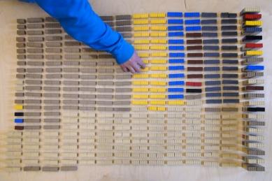 Koleje v kontejnerech - Lego - prvky