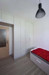 Interiér panelákového bytu, Praha 4 - foto: Jiří Ernest