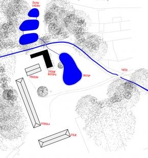 Guest Facilities for a Biotope at Honětice - Situace současného stavu z roku 2013 - foto: Prokš Přikryl architekti