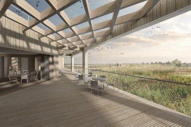 Návštěvnické centrum Great Fen - foto: FAM Architekti