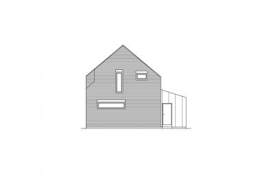 Rodinný dům v CHKO - Pohled - foto: VLADIMÍR BALDA architekt