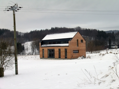 Rodinný dům v CHKO - Z průběhu realizace - foto: VLADIMÍR BALDA architekt