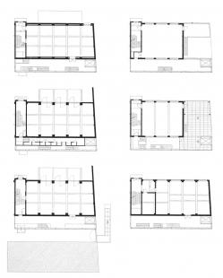 Tacktoren - Půdorysy - foto: Stéphane Beel Architects